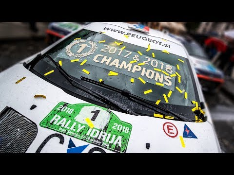 2018 CHAMPIONS   12. Rally Idrija 2018   Rok Turk - Blanka Kacin (Peugeot 208 T16)