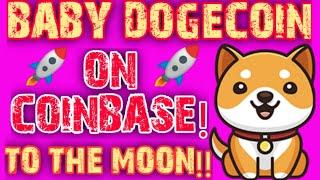 Kaufen Sie Baby Dogecoin Coinbase