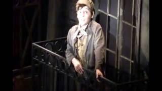 Joshua Colley as Gavroche // Broadway 2014