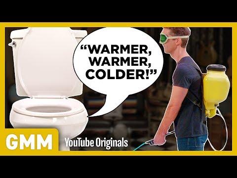 Testing The Talking Toilet