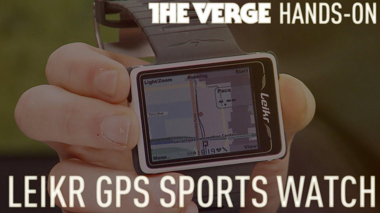 Leikr GPS Sports watch - CES 2013 thumbnail