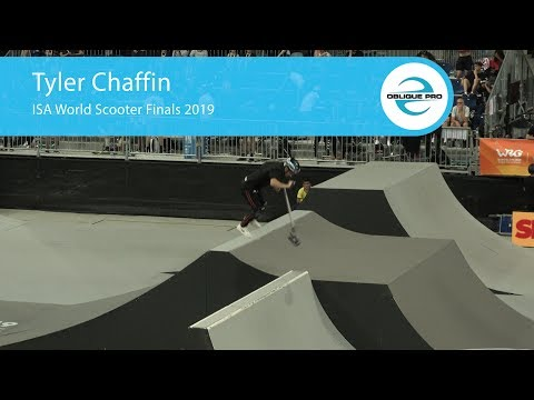 Tyler Chaffin - ISA Men's World Scooter Semi Finals 2019