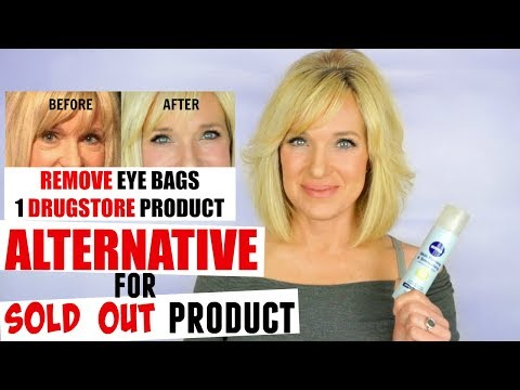 REMOVE Under EYE BAGS! ALTERNATIVE For SOLD OUT Nivea Product!