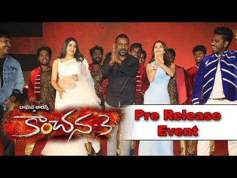kanchana-3-movie-pre-release-event