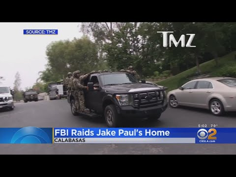 FBI Raids Calabasas Home Of YouTube Star Jake Paul; No Arrests Planned
