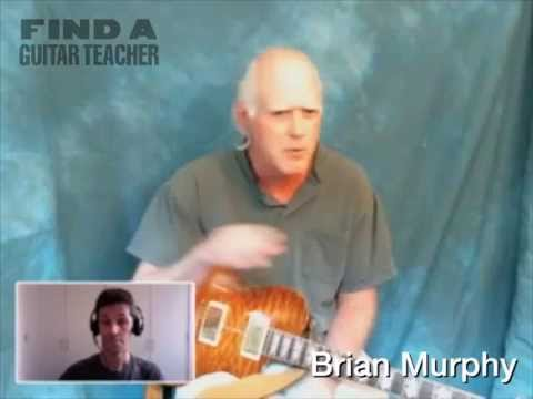 Learn Guitar In Rockland County & On Skype with Brian Murphy