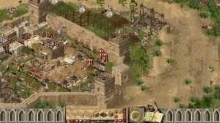 Stronghold Crusader - 7xWolf (Allied) vs SergiuHellDragoonHQ   Skirmish [Part 1/1080p/HD Patch]
