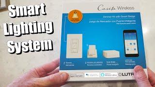 Lutron Caséta Wireless Dimmer/Fan Control Installation & Review