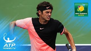 Federer, Fritz, Chung reach last 16 | Indian Wells 2018 Highlights Day 5