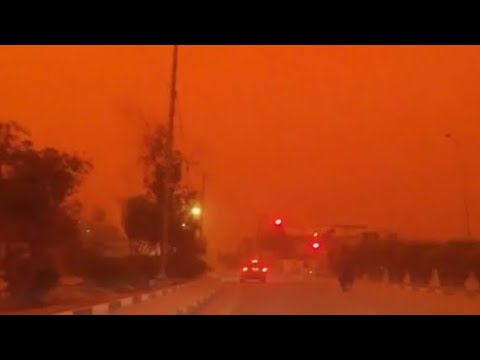 Canary Islands engulfed by 'apocalyptic' sandstorm