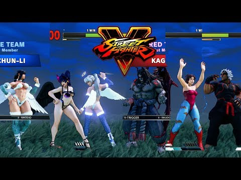 Street Fighter 5 mods Sakura Devil costume - смотреть онлайн