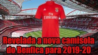 Vazamento! Revelada A Nova Camisola Do Benfica Para 2019-20!