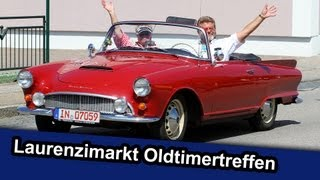 preview picture of video 'Oldtimertreffen Laurenzimarkt Ernsgaden - LocalEventclips'