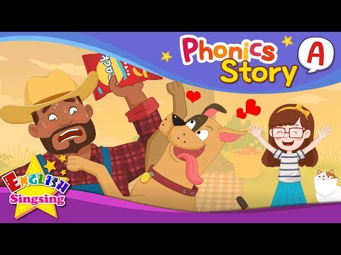 Phonics Story A - English Story - Educational video for Kids