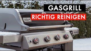 Gasgrill richtig reinigen? / Weber Genesis II E-410 / Weber Genesis 2 / Folge 38