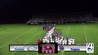 Caston Varsity Football vs Triton