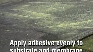 EPDM Fully Adhered Adhesive Application