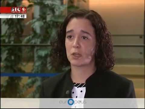 "Entrevista a Sofia Ribeiro - Programa ""Os Europeus"""