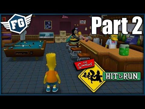 BART A NÁSILNÁ HRA - The Simpsons Hit & Run #2