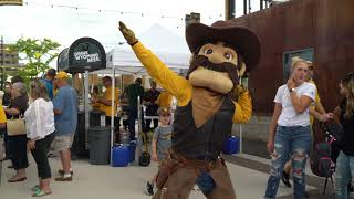 David Street Station 2019 University of Wyoming Pep Rally