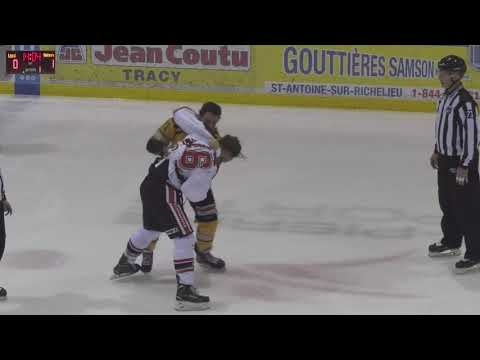 Antoine Guimond vs. Hubert Poulin