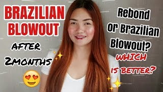 BRAZILIAN BLOWOUT VS REBOND +HAIR UPDATE!
