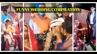 Indian Wedding Funny Compilation | Part 1 | Bride & Groom Fight #Subscribe4more