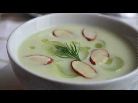 White Gazpacho Recipe – Chilled Summer Vegetable Soup