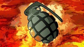 CRAZY GRENADE SPAMMER! Gmod Crazy Fun Grenade Launcher Deathmatch (Garry's Mod)