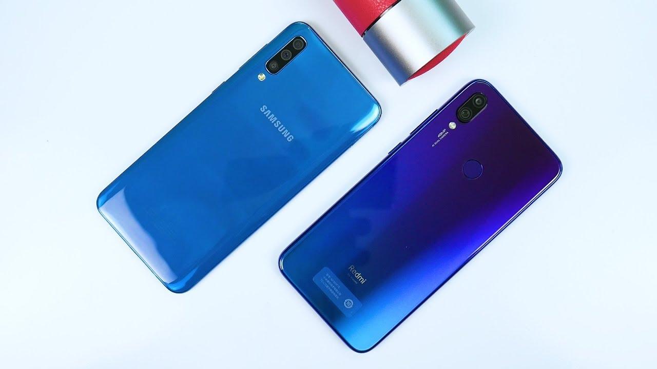 So sánh Galaxy A50 vs Redmi Note 7 pro, đâu là sự lựa chọn của bạn?