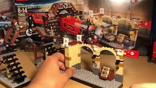 Lego Harry Potter - Хогвартс Экспресс (75955) Review обзор на русском!