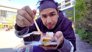 Sushiexperte testet alle Supermarkt Sushi aus Aldi, Rewe, Netto und so
