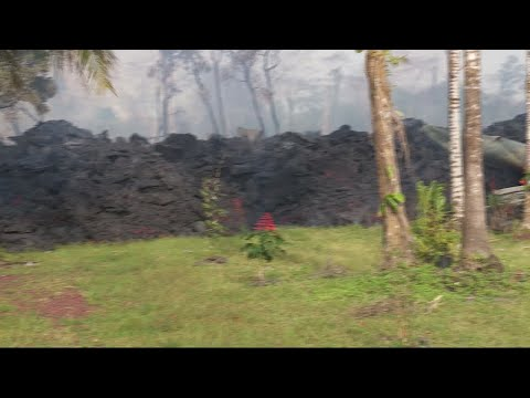 Engulfed by lava: more Hawaiians flee as Kilauea continues to erupt