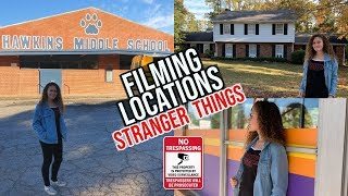 Stranger Things Filming Locations! (Seasons 1, 2 and 3 Starcourt Mall)