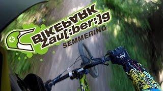 preview picture of video 'Bikepark Zauberberg Semmering 2014'