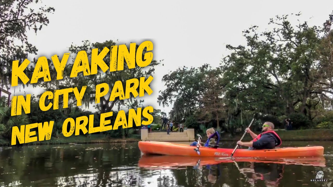 Rent a pedal boat or a kayak and explore City Park