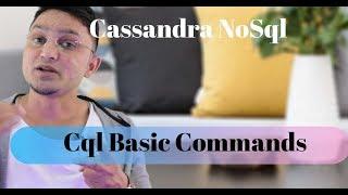 Cassandra  Tutorial#12 CQL Commands in 5 min - Apache cassandra CLI