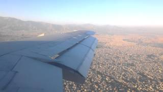 preview picture of video 'Mahan Air landing at Mehrabad Airport [Full HD1080P]'