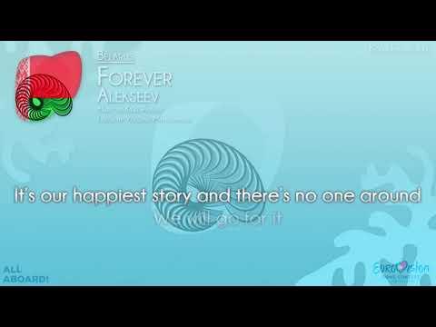 """ALEKSEEV - """"Forever"""" (Belarus) [Karaoke version]"""