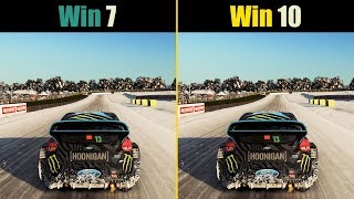 Windows 7 vs. Windows 10 Gaming