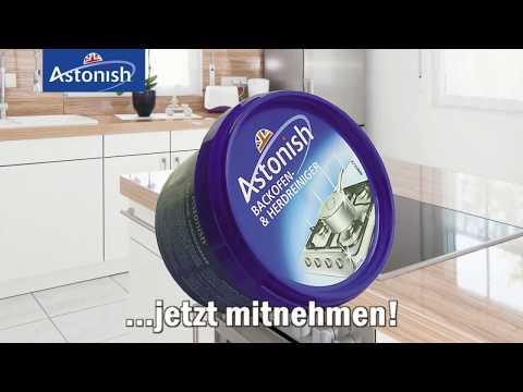 Astonish Backofen- und Herdreiniger, Gründlich und vielseitig -  05039