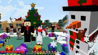 В нашей деревне все готовятся к Новому году и Рождеству