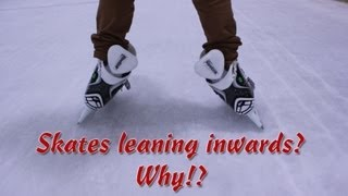 How Do I Keep My Ankles Straight When I Skate - Why Do My Ankles Lean Inwards Ice Hockey Skates