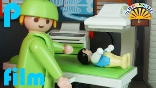 FAMILIE Bergmann 30  EMMA SCHLIMMER UNFALL Auf SPIELPLATZ  Playmobil Film Deutsch