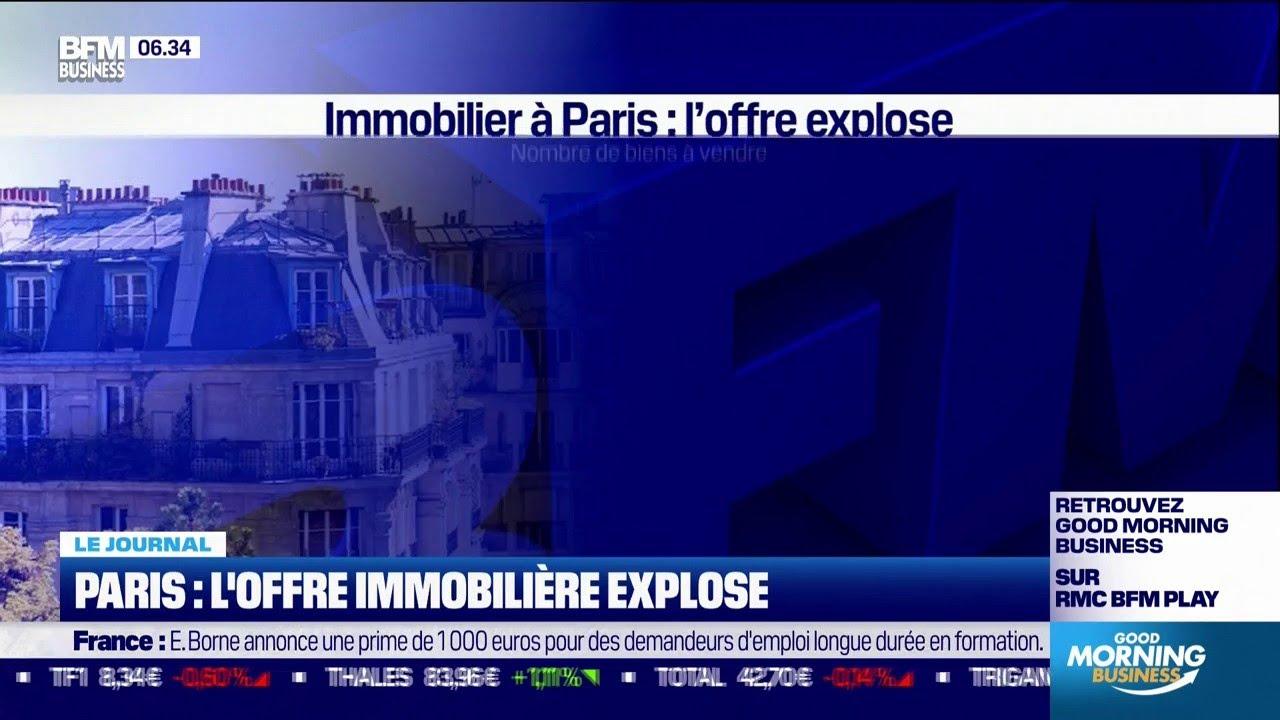Explosion de l'offre immobilière à Paris