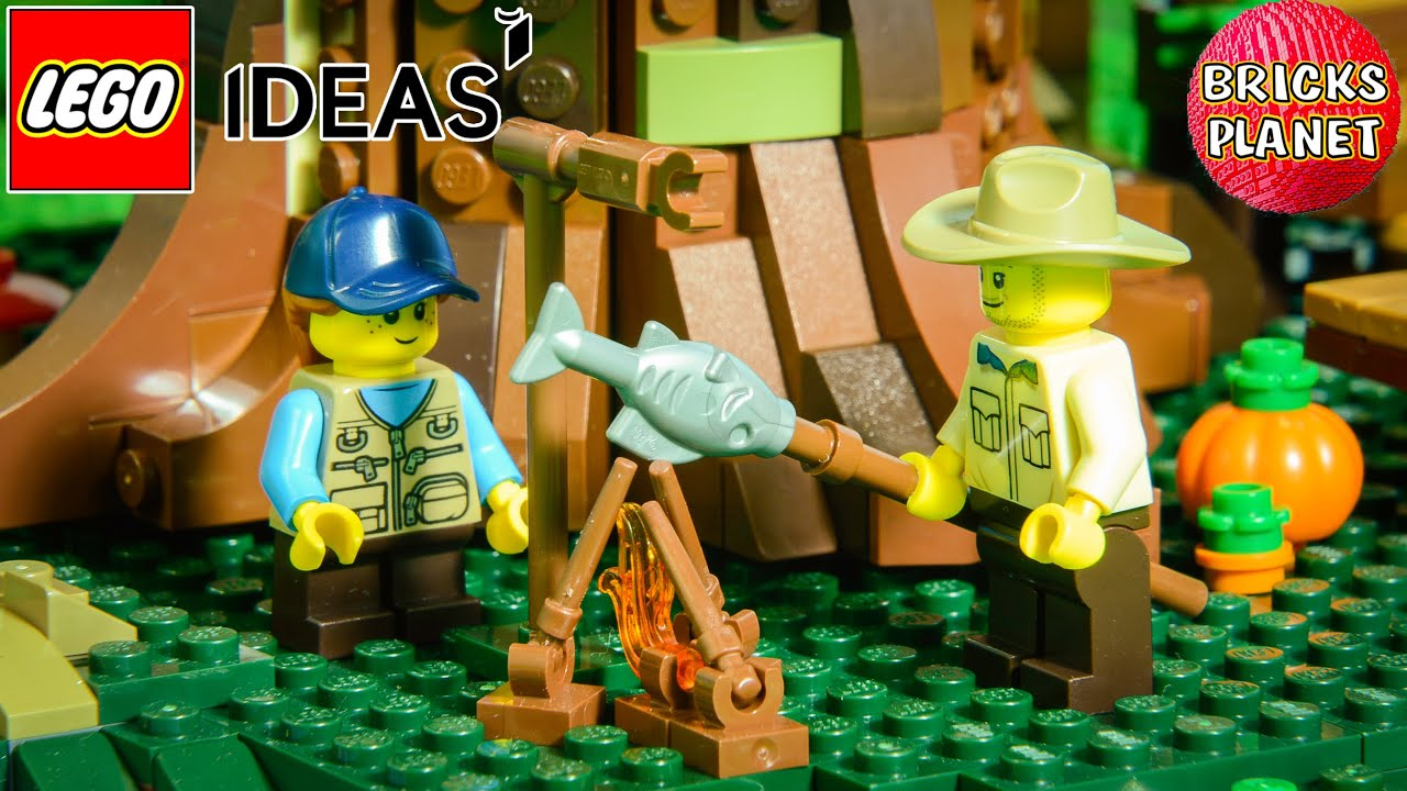 21318 Tree House LEGO IDEAS - Stop Motion Review<br />