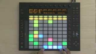 Ableton Push 1 Tutorial Part 5: Session Mode