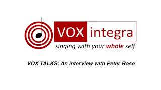VOX TALKS: Peter Rose