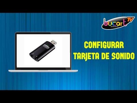 Como utilizar, conectar y configurar una tarjeta de sonido externa USB. (Pre- escucha)