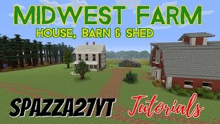 Minecraft tutorial 001 how to build a nice looking shed youtube.
